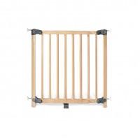 Dør-og trappe sikkerhedsgitter, bøg/lakeret