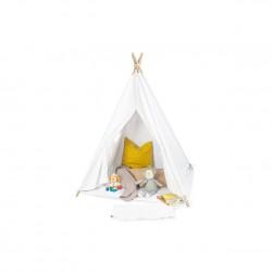 Tipi-telt med bund, Aponi - hvid