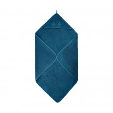 Håndklæde med hætte, iceblue (blå)