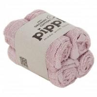 Vaskeklude - støvet rosa