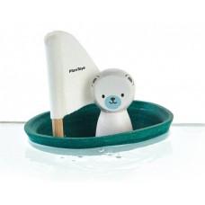 Sejlbåd m. Isbjørn
