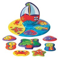 Floaty Boat Bath Puzzle