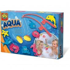 Fang fisk i badet