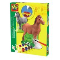 Støb og mal - Hest