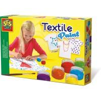 Tekstilfarver - inkl. T-shirt