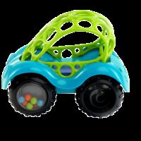 Rattle & roll bil, blå