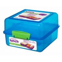 Madkasse lunch cube Blå - 1,4 Liter