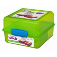 Madkasse lunch cube Grøn- 1,4 Liter