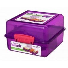 Madkasse lunch cube Lilla - 1,4 Liter