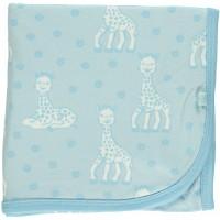 Babytæppe m. Sophie la Girafe, blå
