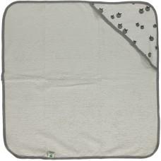 Babyhåndklæde, grå