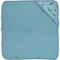 Babyhåndklæde, blå