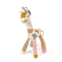 Aktivitetslegetøj, giraf - Off white/peach