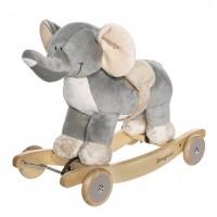 Gyngedyr med lyd - elefant