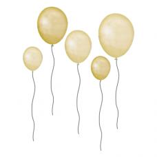 Wallstories - Balloner, gule