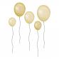 Balloner, gule - Wall Stories