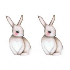 Wallstories - Kaninen Sally, lille 2 stk