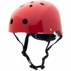 Cykelhjelm, str. M - Ruby red