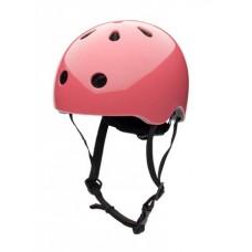 Cykelhjelm, str. M - rosa