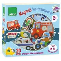 Træmagneter, transportmidler