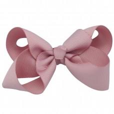 Sløjfe, 8 cm - rosa