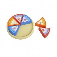 Rund ost m. trekanter