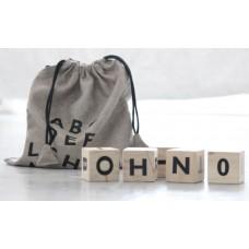 Træklodser m. alfabet