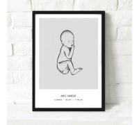 Deal: Personlig fødselsplakat